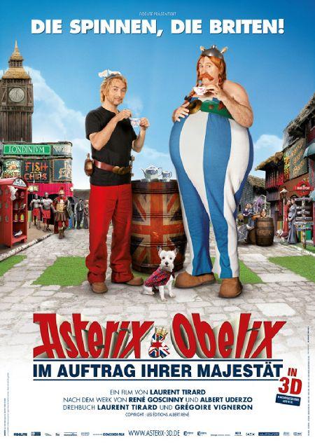 Asterix und Obelix - Im Auftrag ihrer Majestä