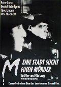 M - Eine Stadt sucht einen Mörder (Fritz Lang)