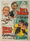 Pat und Patachon als Detektive jagen mit Dick und Doof Gespenster