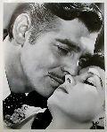 Portrait Clark Gable, Vivian Leigh - Vom Winde verweht