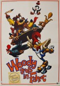Woody groß in Fahrt